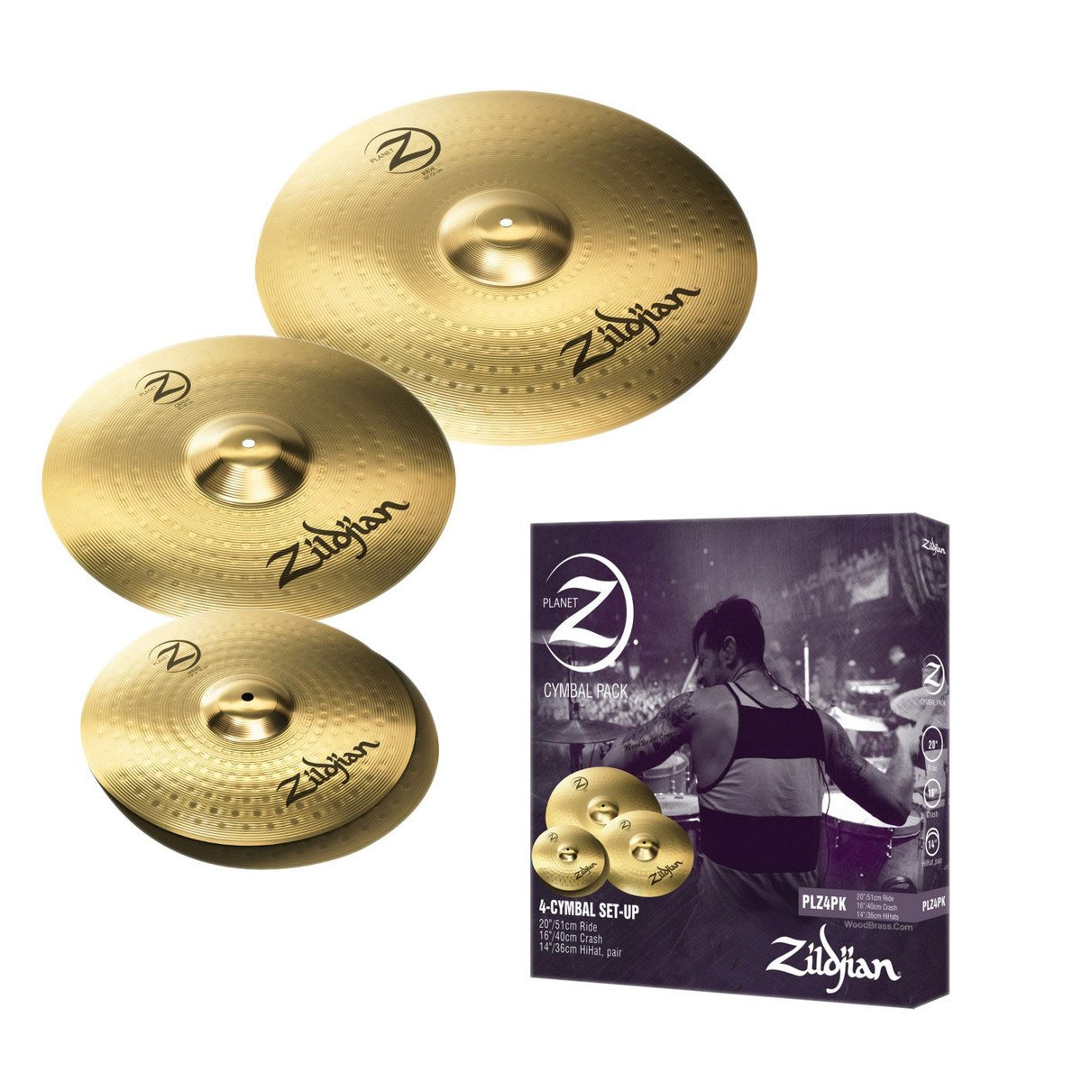 zildjian planet z cymbal set drummers only. Black Bedroom Furniture Sets. Home Design Ideas