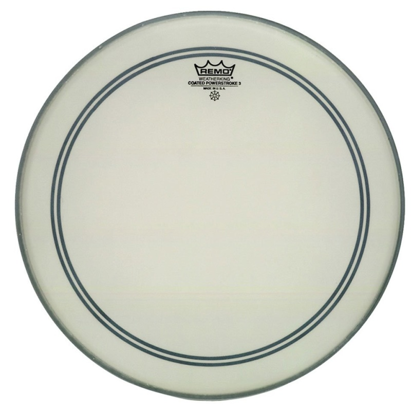 Remo Powerstroke 3 Coated 18in Bass Drum Head