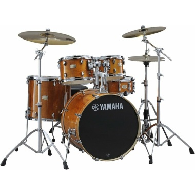 Yamaha Stage Custom Birch 5pc 22 American Fusion Shell Pack – Honey Amber