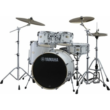 Yamaha Stage Custom Birch 5pc 20 Fusion Shell Pack – Pure White