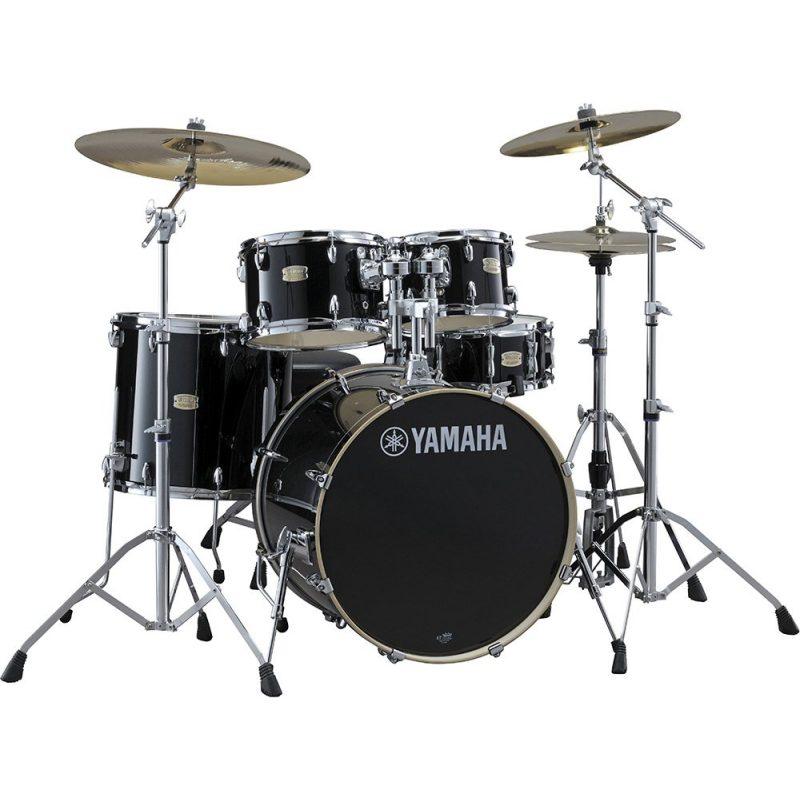 Yamaha Stage Custom Birch 20in 5pc Shell Pack – Raven Black