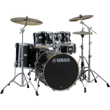 Yamaha Stage Custom Birch 22in 5pc Shell Pack – Raven Black