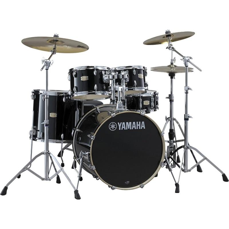 Yamaha Stage Custom Birch 22in 5pc Shell Pack – Raven Black
