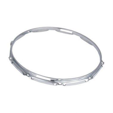 WorldMax 14in Triple Flanged 10 Lug Snare Side Hoop – Chrome