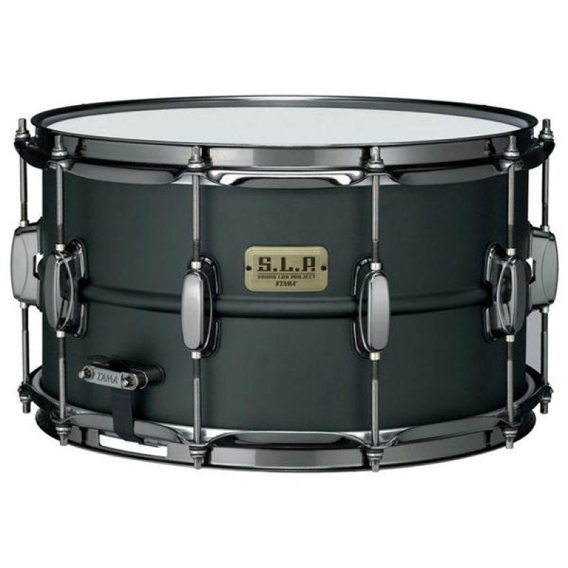 Tama SLP 14x8in 'Big Black Steel' Snare – LST148